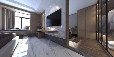 2020现代简约卧室装修设计图片 2020现代简约背景墙装修设计