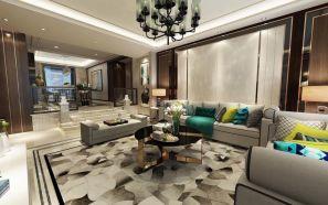 2020新中式客厅装修设计 2020新中式背景墙装修设计