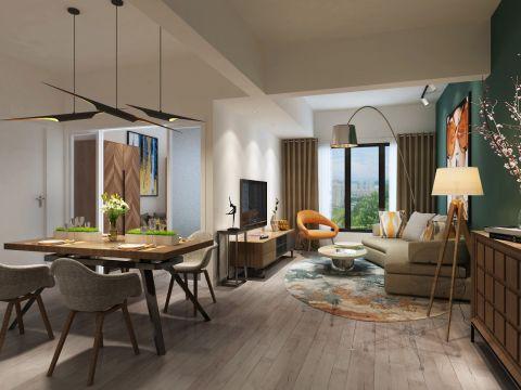 2020北欧60平米以下装修效果图大全 2020北欧三居室装修设计图片