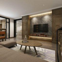 2020美式60平米以下装修效果图大全 2020美式一居室装饰设计