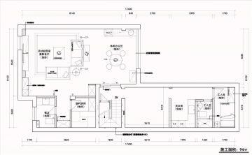 2020中式150平米效果图 2020中式大户型装修图片