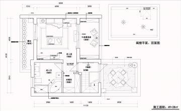 2021中式150平米效果图 2021中式大户型装修图片