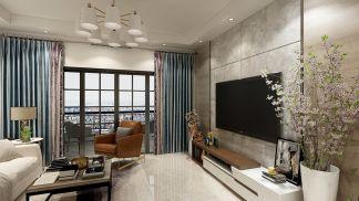 2021现代简约110平米装修设计 2021现代简约三居室装修设计图片