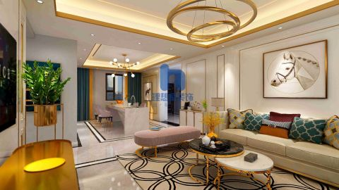 2020宜家150平米效果图 2020宜家三居室装修设计图片
