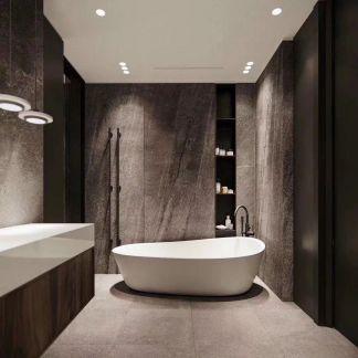 唯美浴缸图片