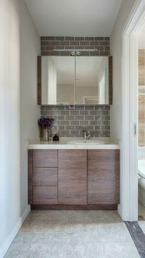 简约卫生间浴室柜装饰图片