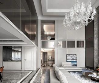 別墅裝修現代輕奢風格設計