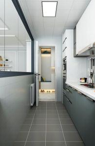 2020現代簡約廚房裝修圖 2020現代簡約櫥柜裝修效果圖片