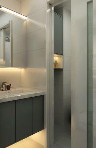 100平米现代简约二居装修效果图