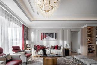 2021美式150平米效果图 2021美式套房设计图片
