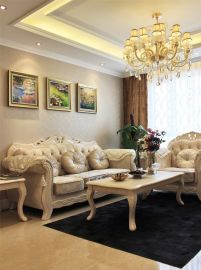 2020欧式90平米装饰设计 2020欧式二居室装修设计