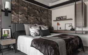 现代卧室床装饰设计图片