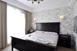 现代简约卧室床装修方案