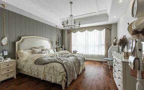 美式卧室床装修案例