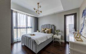 美式卧室床室内装饰