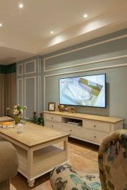简欧客厅茶几装修设计图片