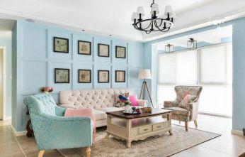 青唐小鎮美式風格  藍色調清新實用,猶如藍色大海的傳說