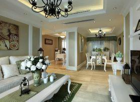2021欧式110平米装修设计 2021欧式三居室装修设计图片