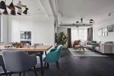 2020北歐110平米裝修設計 2020北歐二居室裝修設計