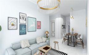 2020歐式110平米裝修設計 2020歐式三居室裝修設計圖片