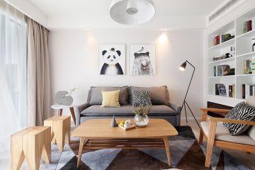 2020北欧110平米装修设计 2020北欧三居室装修设计图片