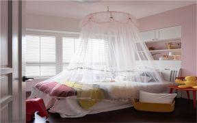 北欧卧室床构造图