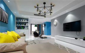 108平北欧风格三居室装修效果图