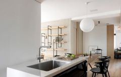 2020现代简约90平米装饰设计 2020现代简约三居室装修设计图片