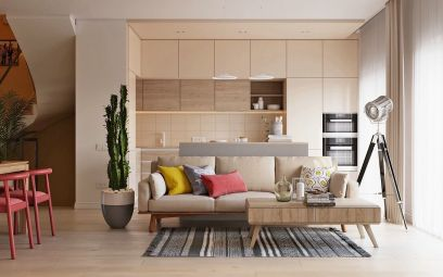 2020北欧90平米装饰设计 2020北欧二居室装修设计