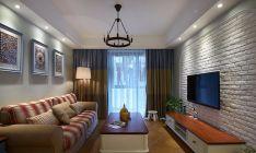 2020地中海110平米裝修設計 2020地中海三居室裝修設計圖片