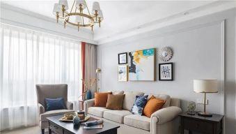 西宁小夫妻83平米美式新房,又酷又温柔第一眼就心动