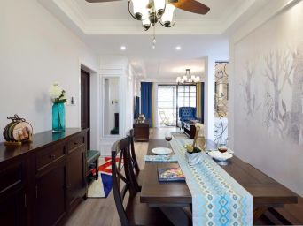 2020现代110平米装修设计 2020现代二居室装修设计