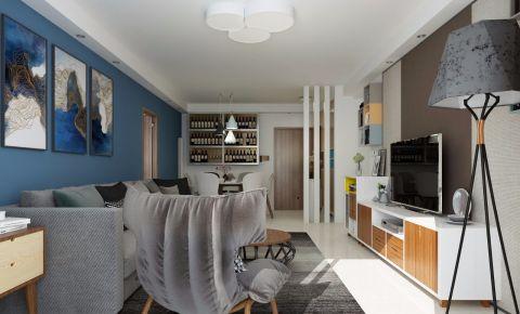 2020田园110平米装修设计 2020田园三居室装修设计图片