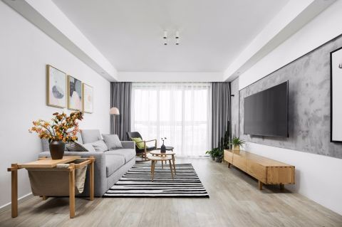 2020簡歐110平米裝修設計 2020簡歐二居室裝修設計