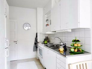 2020簡歐廚房裝修圖 2020簡歐櫥柜裝修效果圖片