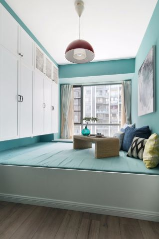 2020新中式110平米裝修設計 2020新中式套房設計圖片