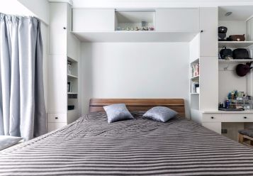 2020简欧卧室装修设计图片 2020简欧窗帘装修设计图片
