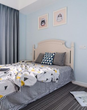 2020北欧卧室装修设计图片 2020北欧窗帘装修设计图片