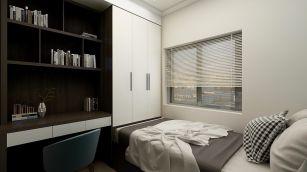 2020現代簡約110平米裝修設計 2020現代簡約套房設計圖片
