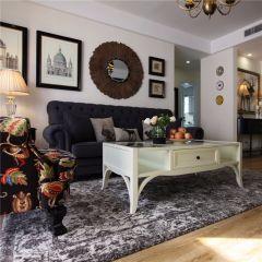 质朴客厅美式装修图片