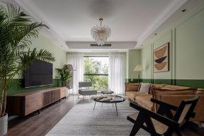 2020复古110平米装修设计 2020复古三居室装修设计图片