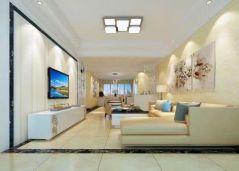 2020簡歐90平米裝飾設計 2020簡歐三居室裝修設計圖片