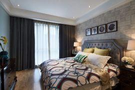 臥室黃色地板效果圖圖片