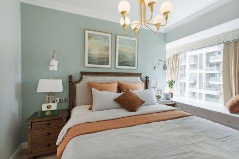 2020美式臥室裝修設計圖片 2020美式吊頂效果圖