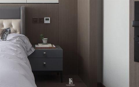 2020新中式卧室装修设计图片 2020新中式床头柜装修设计图片