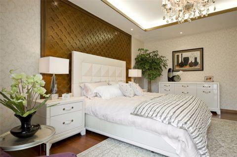 2020中式臥室裝修設計圖片 2020中式吊頂效果圖