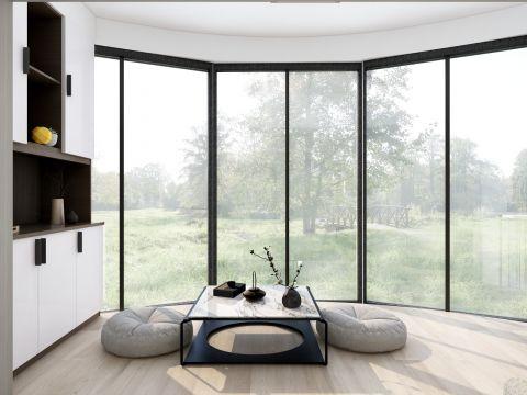 2020新中式阳光房设计图片 2020新中式茶几装修效果图大全