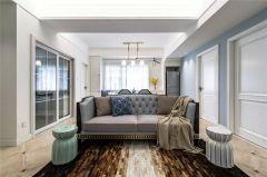 2020美式110平米裝修設計 2020美式套房設計圖片