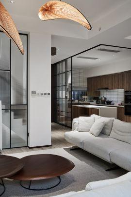 2021现代客厅装修设计 2021现代茶几效果图