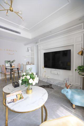 2021美式70平米设计图片 2021美式二居室装修设计